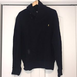 Polo Cowl Neck Pull Over